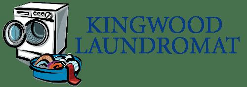 Kingwood Laundromat Washateria Laundry Service Lavanderia Logo